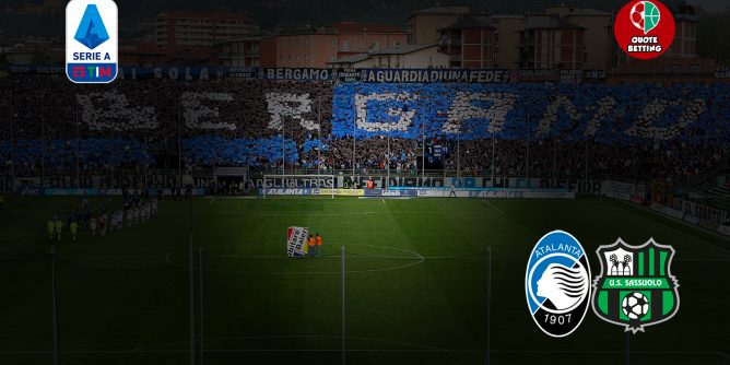 quote atalanta-sassuolo dove vedere in tv formazioni pronostico quota serie a scommesse calcio italia stadio atalanta-sassuolo