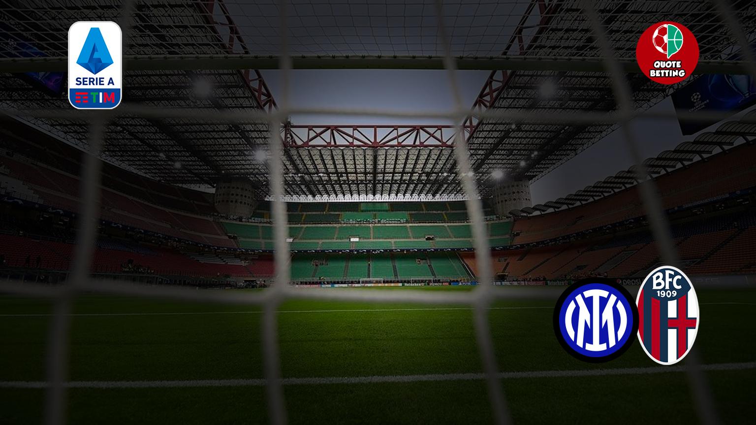quote inter bologna dove vedere in tv formazioni pronostico quota serie a scommesse calcio italia stadio san siro meazza fc internazionale