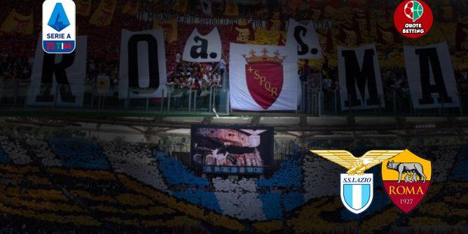 quote lazio-roma dove vedere in tv formazioni pronostico quota serie a scommesse calcio italia stadio olimpico lazio-roma