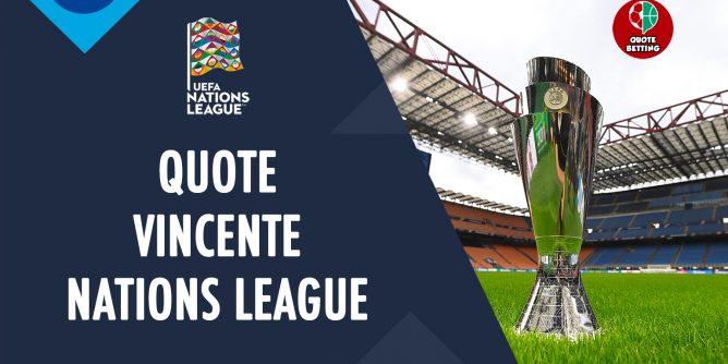 quote vincente nations league 2021 italia belgio francia spagna nazionali prossima partita nazionale italiana bet quota