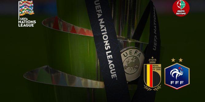 quote belgio-francia dove vedere in tv formazioni pronostico quota nations league scommesse sportive prossima partita belgio oggi